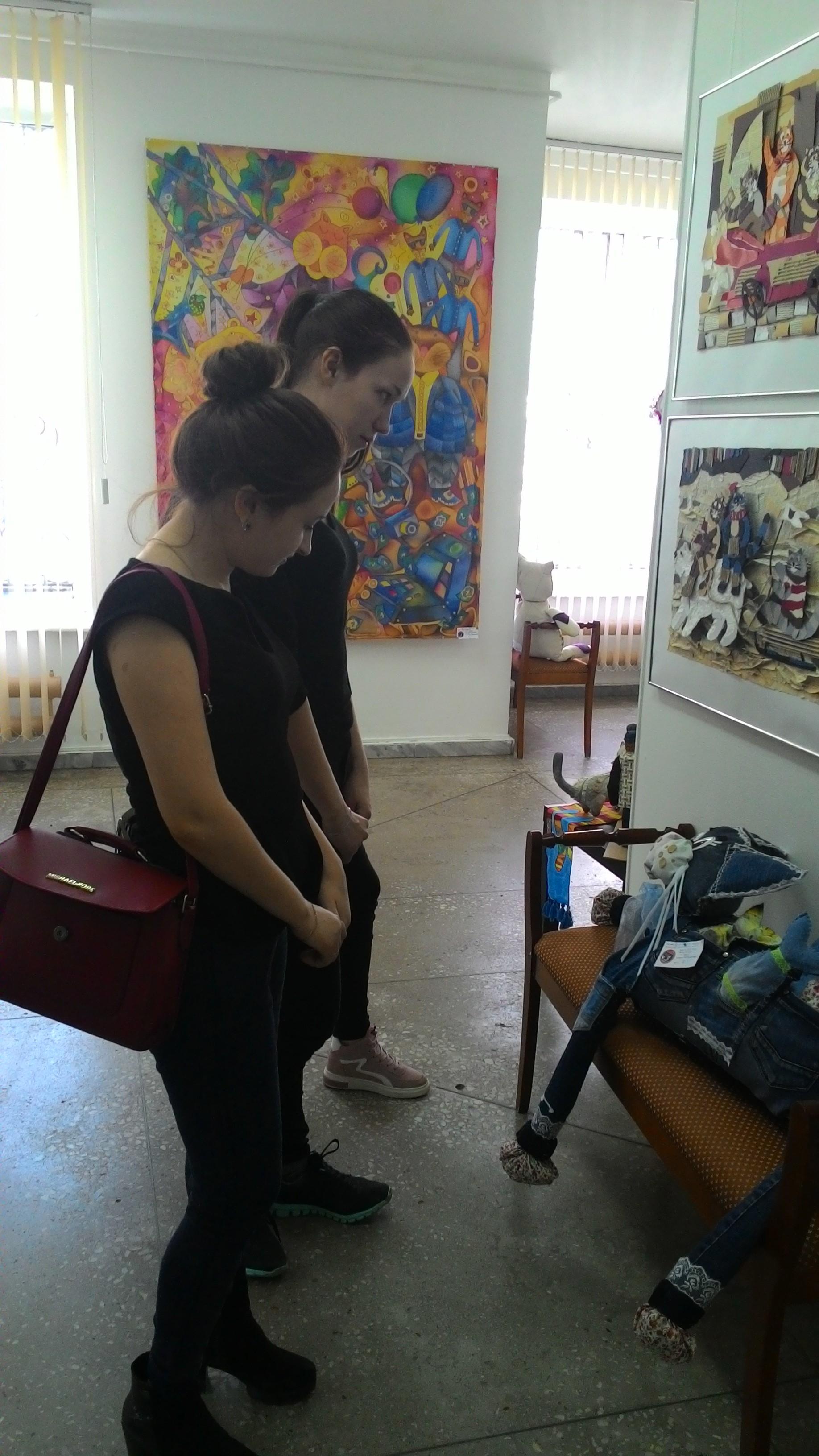Выставка изобразительного искусства «Котовасия»