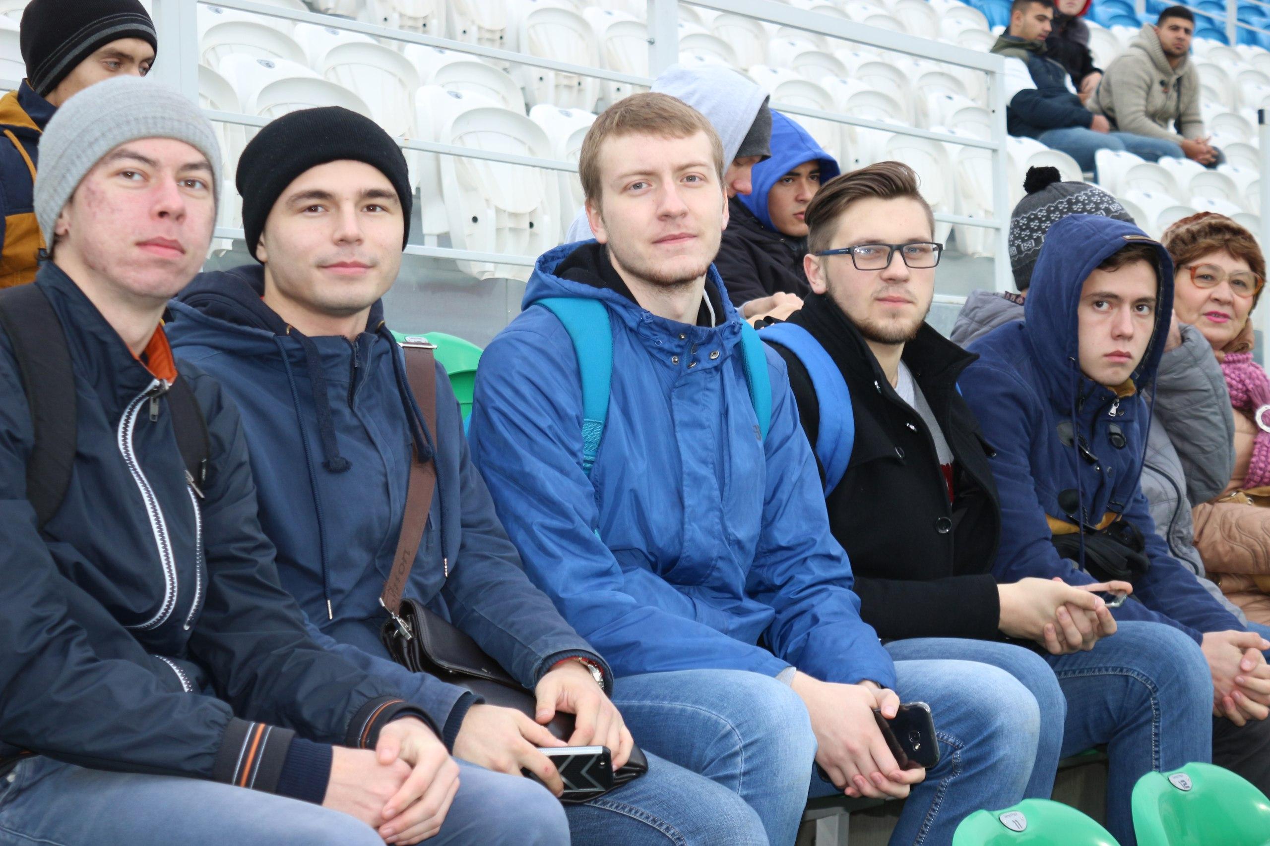 Активисты СФ БашГУ вживую увидели победу «Уфы» над «Локомотивом»
